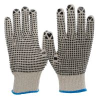 Grobstrick-Noppen-Handschuh 6010
