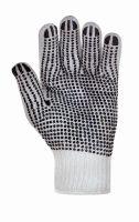 Polyester-Grobstrickhandschuh mit Noppen