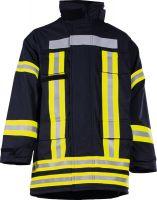 Feuerwehr Überjacke EN 469:2005 und HuPF Teil 1 (09/06) dunkelblau