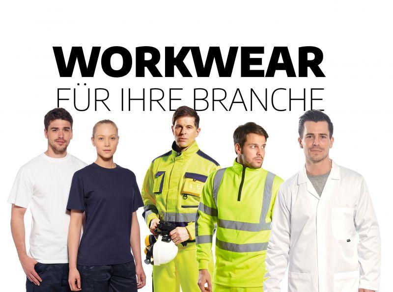 Arbeitskleidung nach Branche