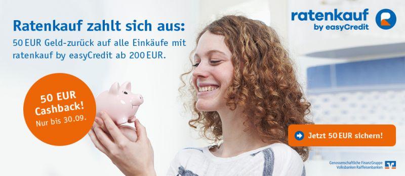 Ratenkauf 50 Euro Cashback