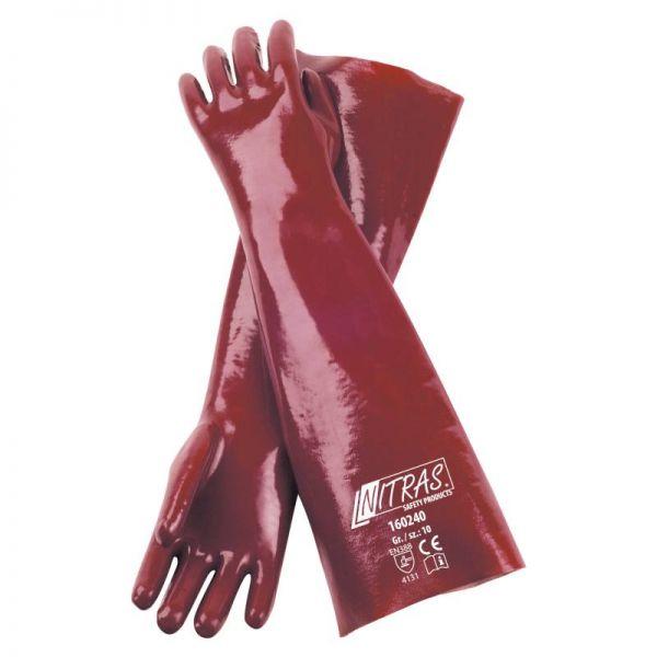 PVC-Handschuh vollbeschichtet 40 cm 160240