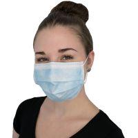 Mund- und Nasenmaske / Einweg 3-lagig (50 Stück)
